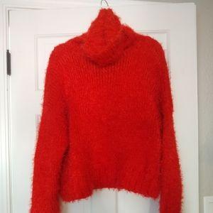 Beautiful Winter Red Sweater!